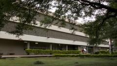 Vista geral do Prédio da ECA. Foto: Marcos Santos/USP Imagens