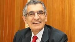 Detalhe do professor Vahan Agopyan, Vice-reitor da USP (gestão 2014 - 2017) e pró-reitor de Pós-Graduação (gestão 2010 - 2013) durante entrevista. Foto: Marcos Santos / USP Imagens