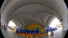 Vista do interior da Tenda Cultural Ortega Y Gasset. Foto: Marcos Santos / USP Imagens