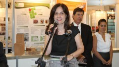 Professora Roseli de Deus Lopes, coordenadora geral da FEBRACE. Foto: Marcos Santos/USP