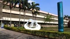 Fachada do prédio da Escola de Comunicações e Artes. Foto: Marcos Santos/USP Imagens