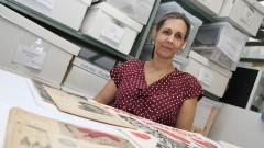 Professora Elizabeth Ribeiro Azevedo Departamenteo de Artes Cênicas da ECA. Foto: Marcos Santos/USP Imagens