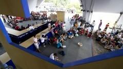 Estudantes reunidos participam da 8ª Assembléia Nacional dos Estudantes Livre (ANEL). O evento ocorreu dia 21 de março (2014) nas dependências da Tenda Cultural Ortega e Gasset, na Cidade Universitária Armando de Salles OliveiraFoto: Marcos Santos / USP Imagens