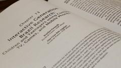 Detalhe do texto da Professora Brasilina Passarelli do Núcleo de Apoio à Pesquisa (NAP). Foto: Marcos Santos / USP Imagens
