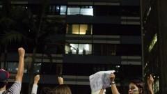Manifestantes gritam palavras de ordem. Foto: Marcos Santos/USP Imagens