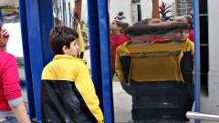 Crianças visitam o Centro de Divulgação Científica e Cultural (CDCC) da USP de São Carlos. Foto: Marcos Santos.
