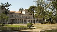 Fachada do prédio principal da Escola Superior de Agricultura Luiz de Queiroz (ESALQ - USP), em Piracicaba, interior de São Paulo. Foto: Marcos Santos.