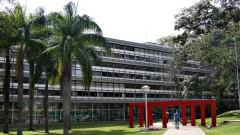 Fachada da Escola de Engenharia de São Carlos (EESC - USP), situada no Campus da USP em São Carlos, interior do Estado de São Paulo. Foto: Marcos Santos.
