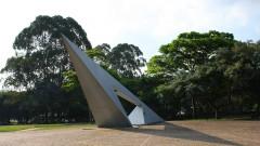 Relógio Solar localizado no campus da capital. Foto: Marcos Santos.