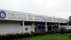 Fachada da Escola de Enfermagem de Ribeirão Preto (EERP - USP), no campus de Ribeirão Preto, interior de São Paulo. Foto: Marcos Santos.