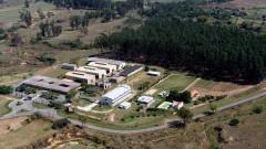 Foto aérea da Escola de Engenharia de Lorena em 2007. Campus 2. Foto: André Arras/EEL