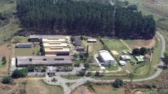 Foto aérea da Escola de Engenharia de Lorena em 2007 (EEL/ USP). Campus 2. Foto: André Arras/EEL