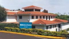 Biblioteca central do campus da USP em Ribeirão Preto, interior de São Paulo. Foto: Marcos Santos.