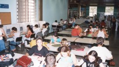 Estudantes na biblioteca central do campus da USP em Ribeirão Preto, interior de São Paulo. Foto: Marcos Santos.