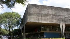 Fachada da Faculdade de Arquitetura e Urbanismo da Universidade de São Paulo (FAU - USP), no Campus da Cidade Universitária, em São Paulo. Foto: Marcos Santos.