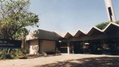 Entrada da Escola de Educação Física e Esporte da Universidade de São Paulo (EEFE - USP). Foto: Jorge Maruta.