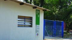 Portão de entrada do CEDIR.