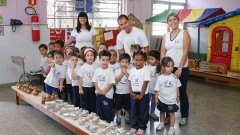 Centro de Convivência Infantil Prof. Ignez Pettená - II. Foto:Marcos Santos/USP imagens
