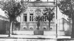 Prédio da Física - Fachada do edifício na Avenida Brigadeiro Luís Antônio. Data: 1938