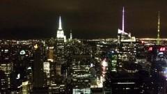 Vista noturna Empire States e outros edifícios - Estados Unidos, Nova York – George Campos / USP Imagens