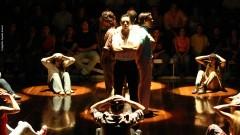 """Cena da peça de teatro """"Prepare seu Coração"""". Foto: Águeda Amaral."""