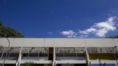 Fachada do prédio do Departamento de Cinema, Rádio e Televisão (CTR) da Escola de Comunicações e Artes (ECA). Foto: Marcos Santos / USP Imagens
