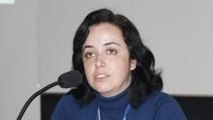 Jornalista Marcia Blasques presidente do Gecom inicia o workshop em São Carlos. Foto: Marcos Santos/USP Imagens