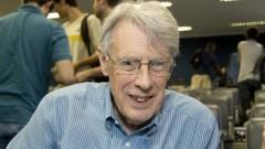 Professor John E. Hopcroft da Cornell University. Foto: Marcos Santos/USP Imagens