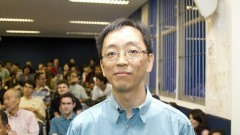Prof. Yoshiharu Kohayakawa. Foto Marcos Santos/USP Imagens