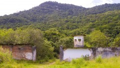 Ruínas do presídio de Ilha Grande - RJ.  Foto:Marcos Santos/USP Imagens