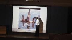 Primeiro curso de arquitetura espacial no Brasil e um dos primeiros no mundo. Foto: Marcos Santos/USP Imagens