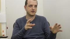 Professor Guilherme Menegon Arantes do Laboratório de Bioquímica e Biofísica Computacional. Foto: Marcos Santos/USP Imagens