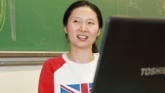 Aluna Yue Ding do Centro de Estatística Aplicada do IME. Foto: Marcos Santos/USP Imagens