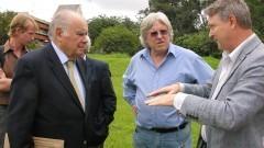 D. Enrique Iglesias em visita ao Instituto de Energia e Ambiente (IEE). Foto: Marcos Santos / USP Imagens