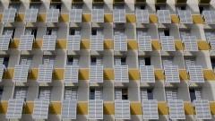 Detalhe das janelas do CRUSP, Conjunto Residencial da Universidade de São Paulo. Foto: Marcos Santos/USP Imagens