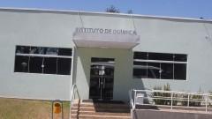 Fachada de um dos prédios do Instituto de Química de São Carlos. Foto: Marcos Santos/USP Imagens