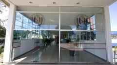 Entrada principal da Faculdade de Odontologia. Foto: Marcos Santos/USP Imagens