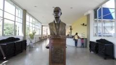 Hall de entrada da Faculdade de Odontologia. Foto: Marcos Santos/USP Imagens