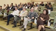 Público da palestra. Foto:Marcos Santos/USP Imagens