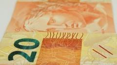 Detalhe de cédula de R$ 20,00 (vinte reais). Foto: Marcos Santos / USP Imagens