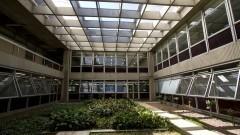 Interior do prédio da Engenharia Civil. Foto: Marcos Santos/USP Imagens
