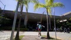 Fachada do prédio da Engenharia Elétrica e Eletrônica. Foto: Marcos Santos/USP Imagens