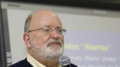 """Professor Fredric Michael Litto fala sobre """"Educação a Distância"""" na Superintendência de Tecnologia da Informação -STI. Foto: Marcos Santos/USP Imagens"""