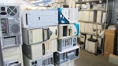 O CEDIR implementa as práticas de reuso e descarte sustentável de lixo eletrônico, incluindo bens de informática e telecomunicações que ficam obsoletos. Foto:Marcos Santos/USP imagens