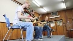 Músicos do Ser Tão Trio. Foto:Marcos Santos/USP Imagens