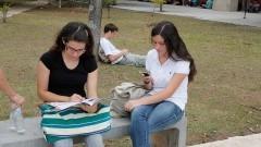 Vestibulandos antes da prova. Foto:Marcos Santos/USP IMagens