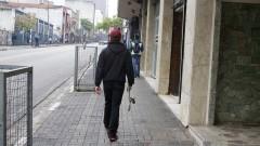 skatista caminha pela rua Augusta em São Paulo. Foto: Marcos Santos/USP Imagens