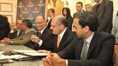 Governador Geraldo Alckmin assina acordo de criação