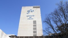 Fachada do prédio do  Acelerador de Partículas. Foto:Marcos Santos/usp imagens