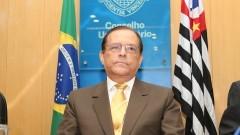 Reitor João Grandino Rodas durante a cerimônia de lançamento do Ciba. Foto: Marcos Santos / USP Imagens
